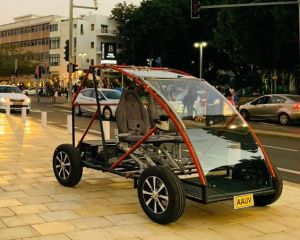 Electric Car for the Elderly